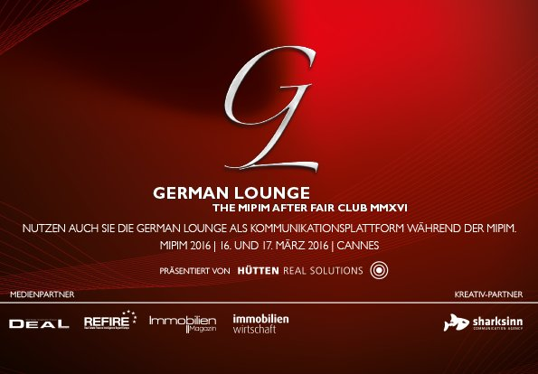 German Lounge 2016