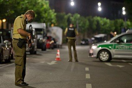 Police investigate - Ansbach.
