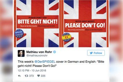 Tweet - Mathieu von Rohr