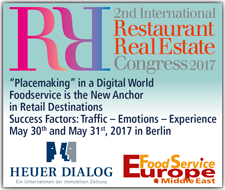 2nd International Restaurant Real Estate Congress 2017