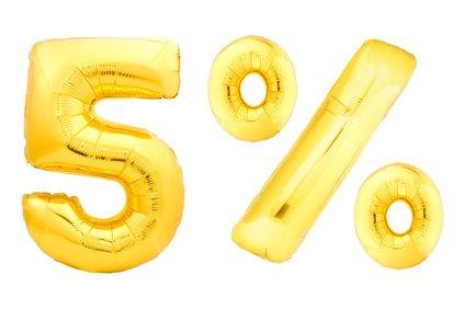 5% Yield