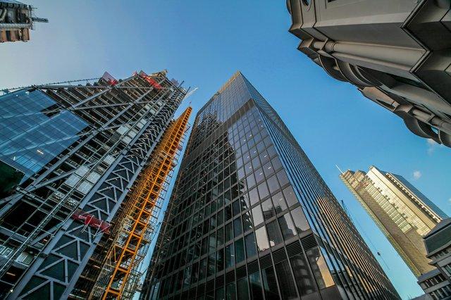 London commercial district