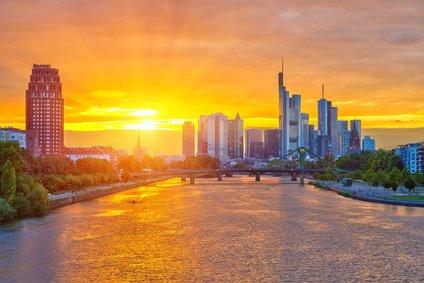Sunset Frankfurt