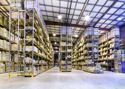 Warehouse and logistic space