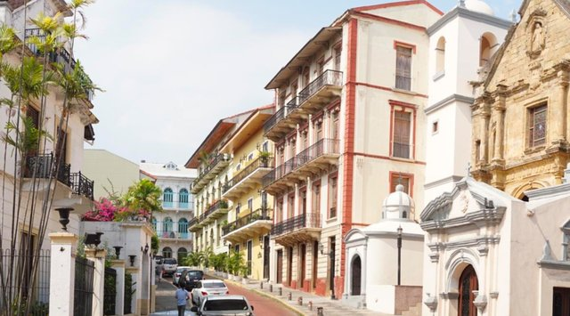 Street in Panama City