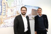 Karsten Monke (li.) und Marc K. Thiel