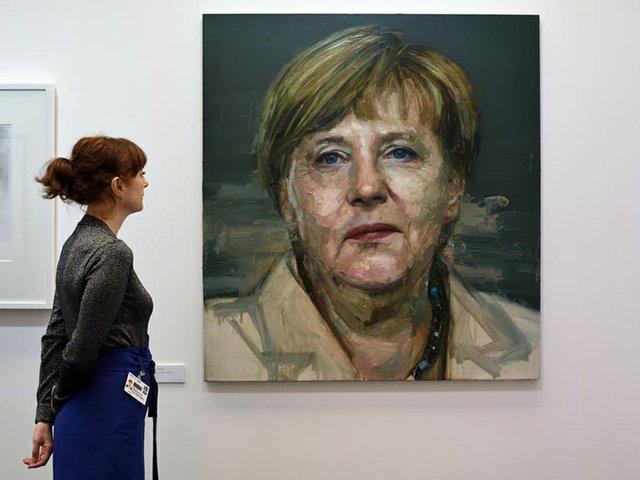 Angela Merkel portrait