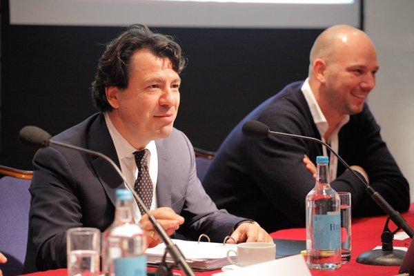 Dr. Geza Toth-Feher and Stefan Zimmermann